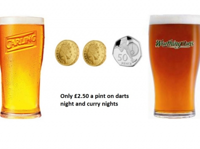 carling and worthingtons 4 x 3